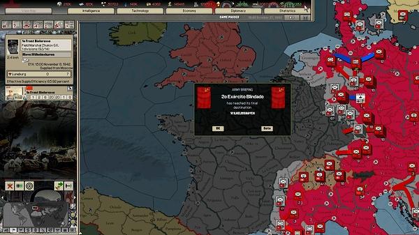 28 -  Marcha para a França