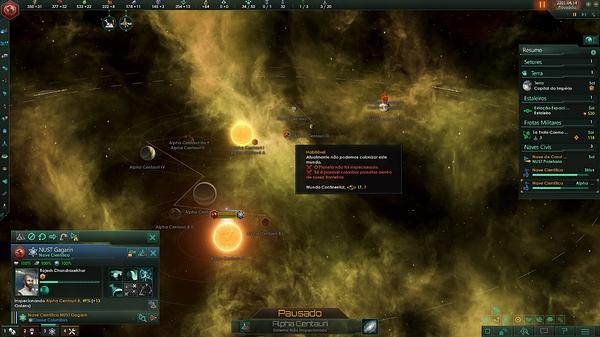 23 - Mundo habitavel em Alpha Centauri