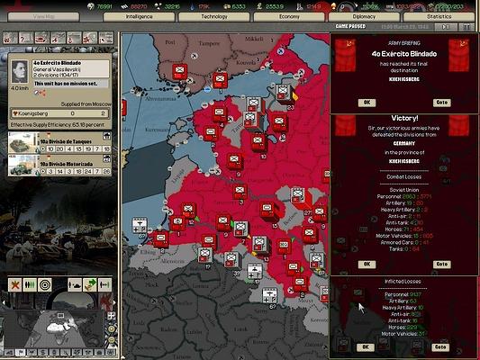 12 - Pé na Prussia Oriental - 2 bolsões alemães