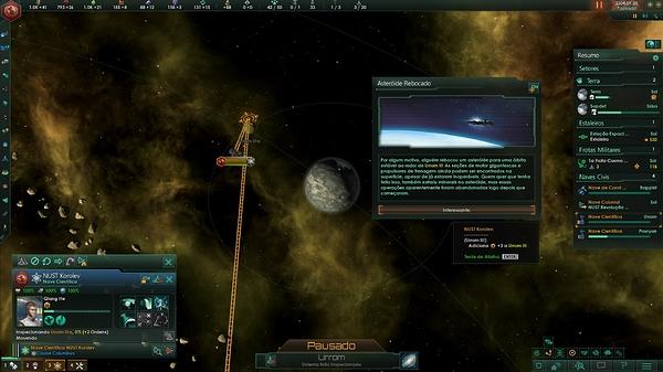 10 - Asteroide rebocado