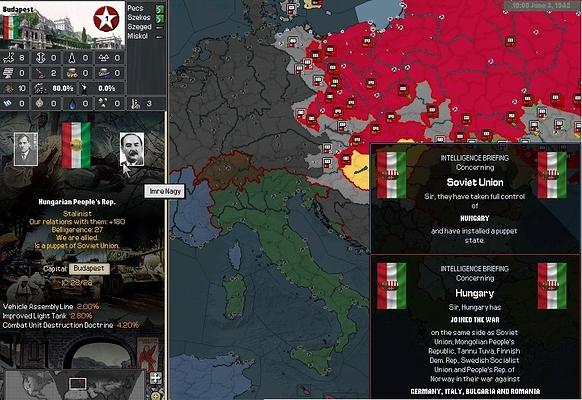 23 - Hungria se alia