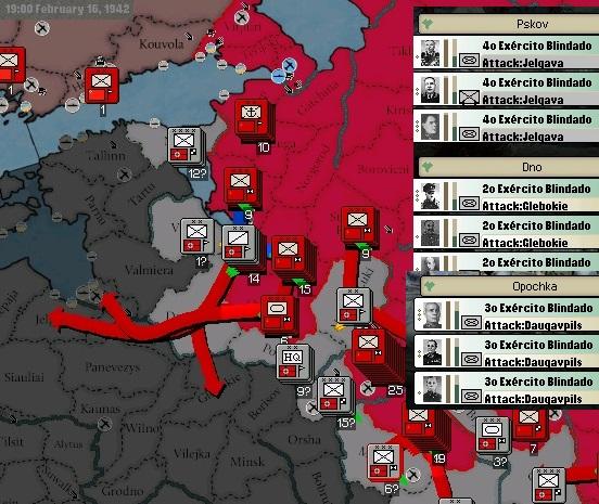 02 - Ofensiva do Fim do Inverno - Gen Zhukov-Gen Timoshenko - 4 Ex. Blindados - 8 Exércitos Inf - 2 ex. de Guardas