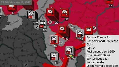 03 - Ofensiva da Bielorussia-Ucrania - Gen Malinovsky - 8 Ex. Infantaria - 1 de Cavalaria - Uso da Reserva do Ex. Vermelho